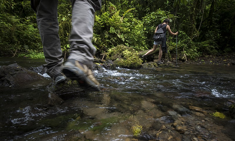 Clothes may get socking wet during your family vacation in Costa Rica