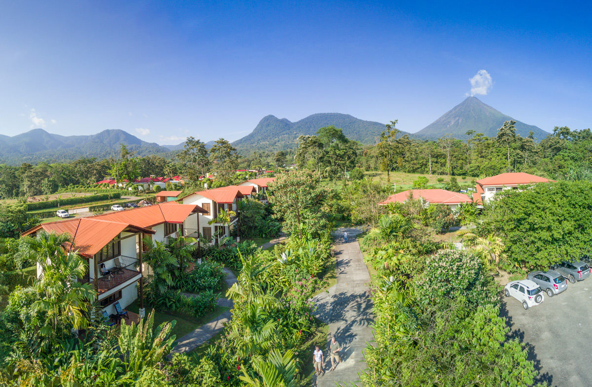 Arenal Volcano waterfall Hotels