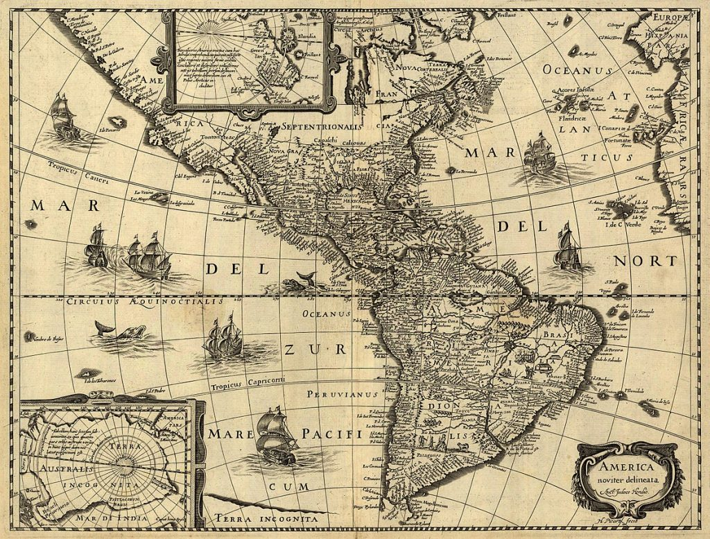 History of Costa Rica - Map of Central America